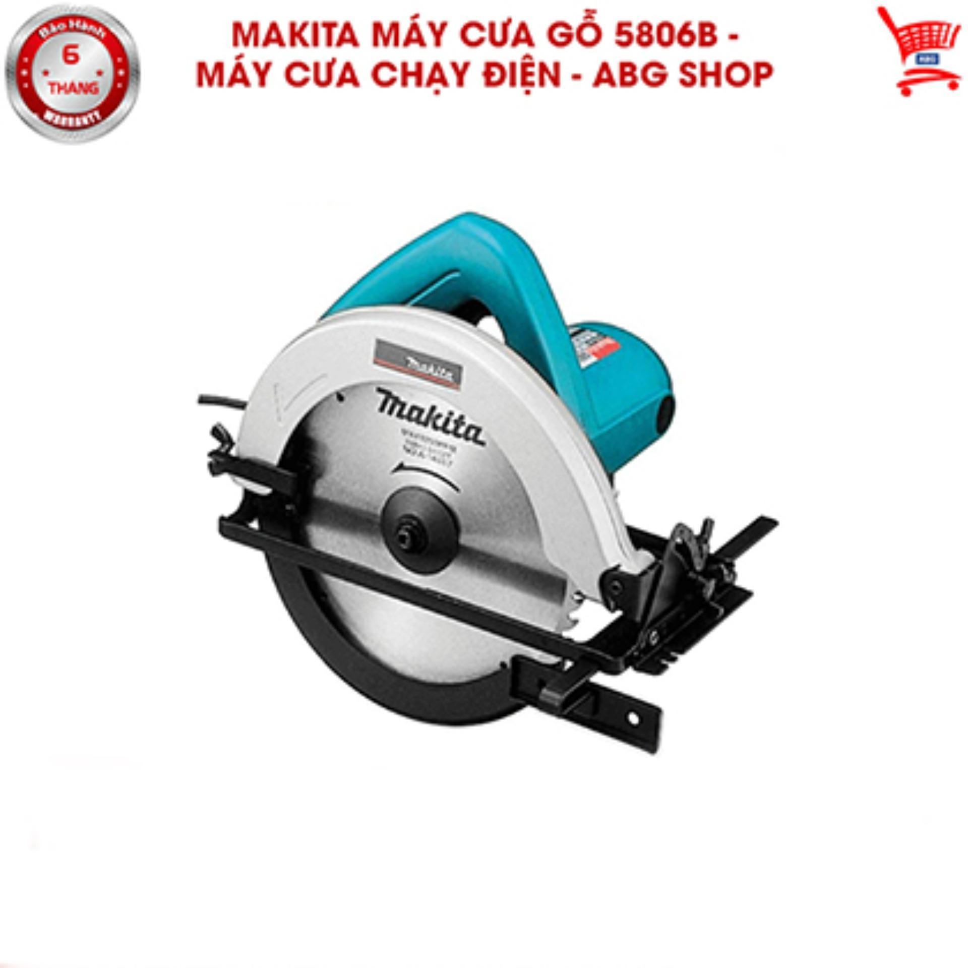 Makita máy cưa gỗ 5806b - Máy cưa chạy điện - ABG shop