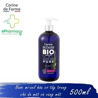 Nước Tẩy Trang Hữu Cơ CORINE DE FARME Bio Organic Micellar Water Pure cho da nhạy cảm 500ml thumbnail