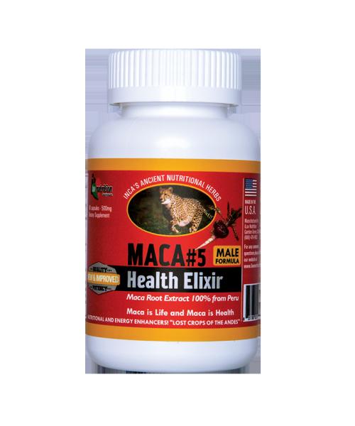 [Hộp 60 viên] Hỗ trợ tăng cường sinh lý nam giới, tăng cường sinh lực MACA#5 HEALTH ELIXIR