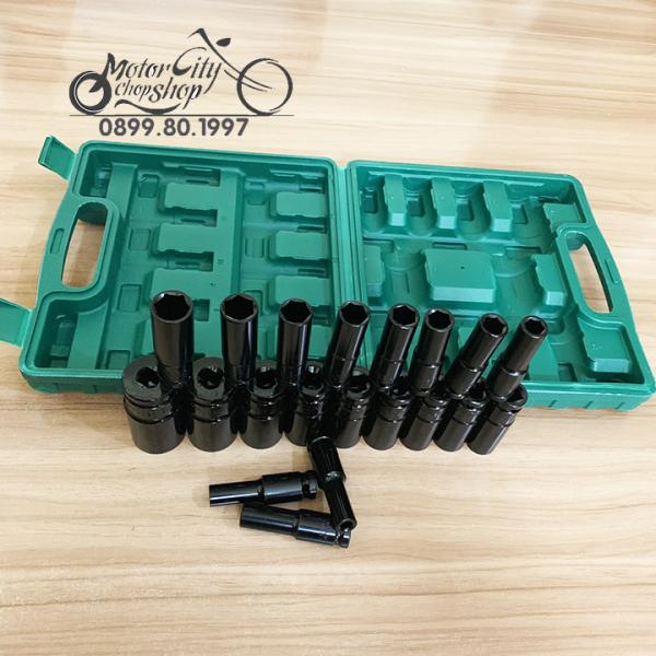 Bộ khẩu, Bộ khẩu mở ốc cho máy bulong 1/2 - 20 khẩu chuyên dụng