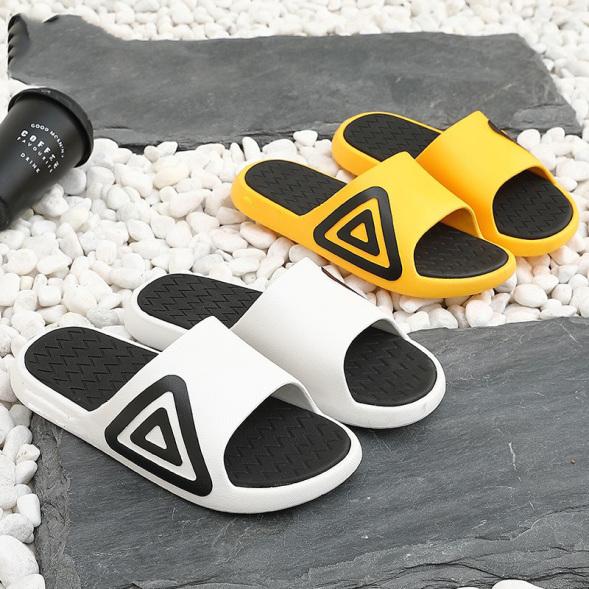 Dép lê nam nữ quai ngang phối tam giac Fashion nhiều màu dễ chọn đi siêu êm chân - Sudoo giá rẻ
