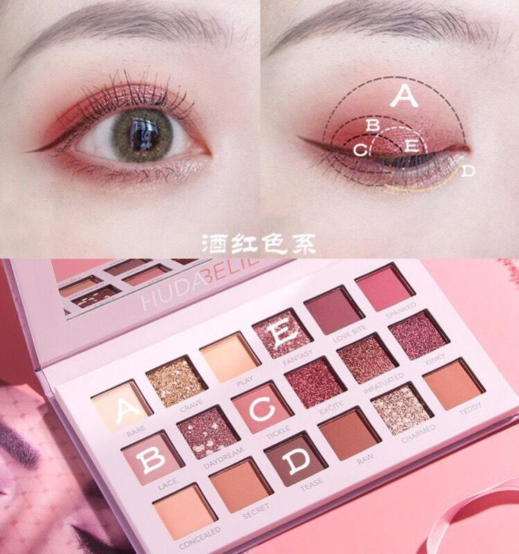 Bảng phấn mắt Huda Beauty Nude New Eyeshadow Palette 19.7g