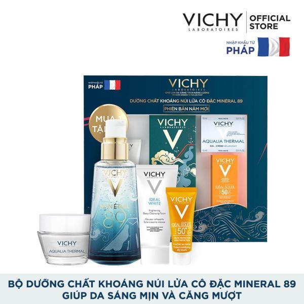 Bộ dưỡng Chất (Serum) Khoáng núi lửa cô đặc Vichy Mineral 89 Giúp Da Sáng Mịn Và Căng Mượt tốt nhất