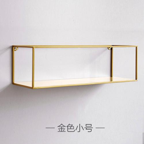 Northern European-Style Creative Wall Storage Shelf Minimalist Modern Wrought Iron Bookcase Wall Hangers Storage Rack A- line Partition Decorative Shelf