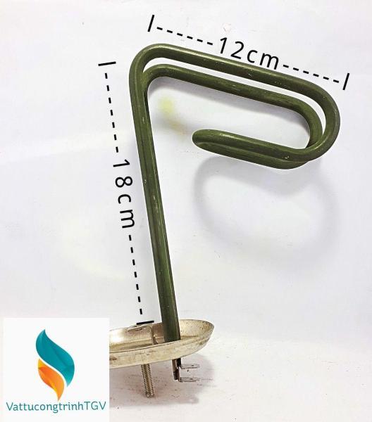 Ruột đốt bình nóng lạnh ARISTON 15L bát bằng KT 6.5 x18+12cm