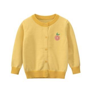 [ VIDEO] K123 Áo khoác len cardigan thu đông cho bé gái 27Home in hình TRÁI CAM tone màu pastel cực yêu phong cách Hàn Quốc thumbnail