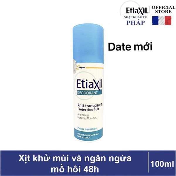 Xịt khử mùi Etiaxil  giúp ngăn ngừa mồ hôi trong 48h - 100ml