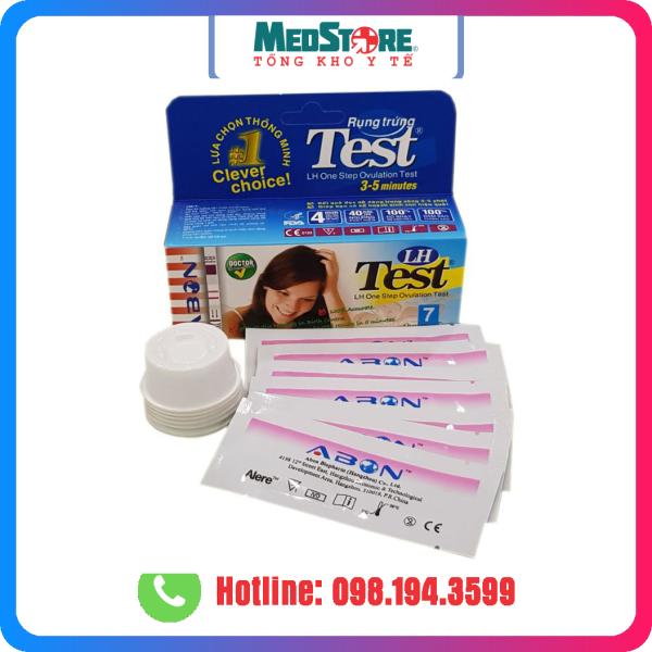 Hộp 7 Que thử rụng trứng LH ABON - TBYT Medstore (hộp 7 test) tốt nhất