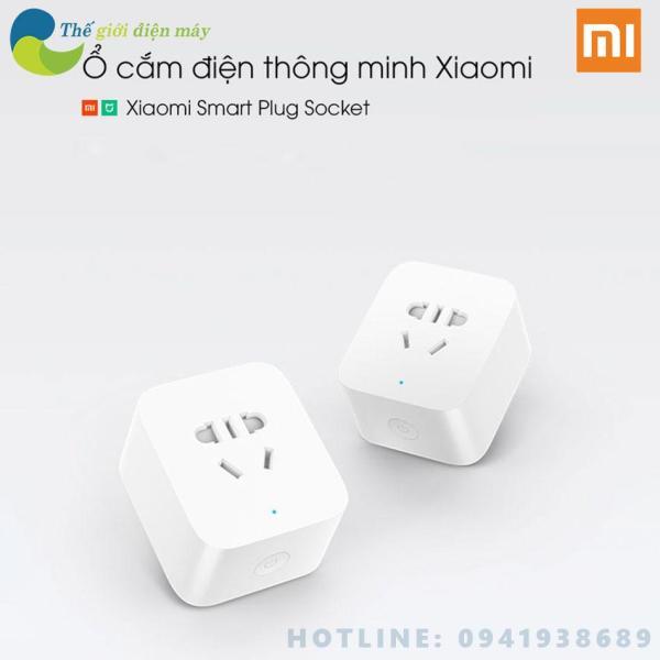 Ổ cắm điện thông minh xiaomi power socket kết nối wifi BH 6 tháng - Shop Thế giới điện máy