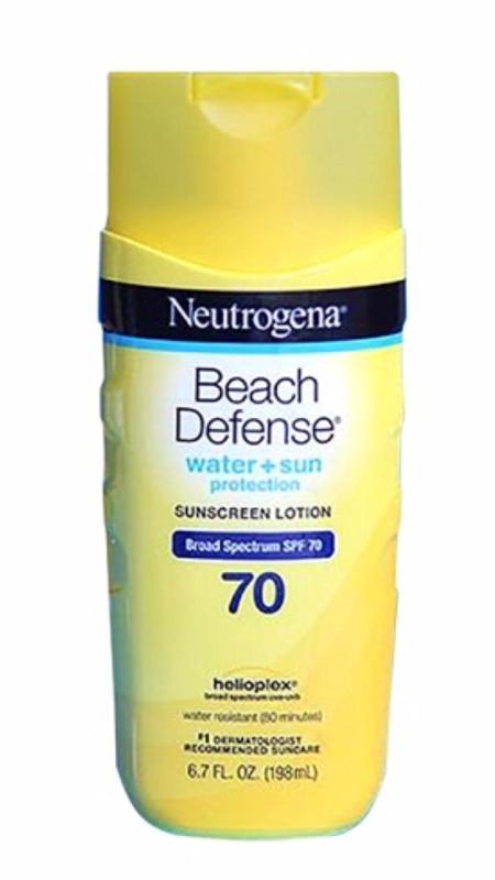 Kem chống nắng Neutrogena Beach Defense SPF70 198ml nhập khẩu