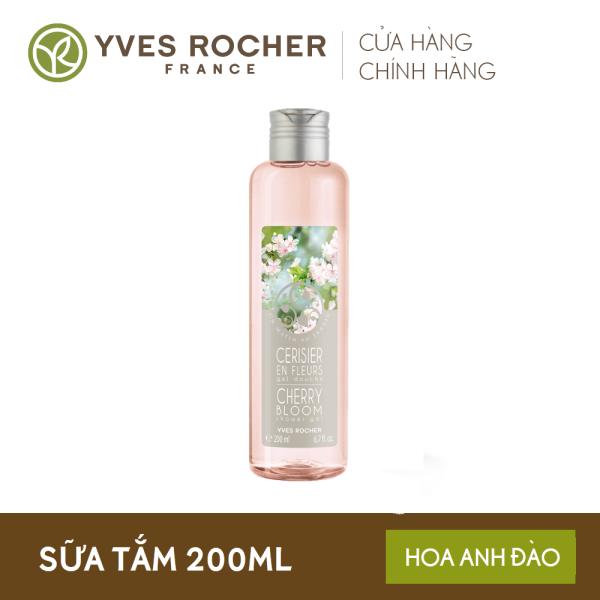 Sữa tắm YVES ROCHER SHOWER GEL CHERRY BLOOM 200ML