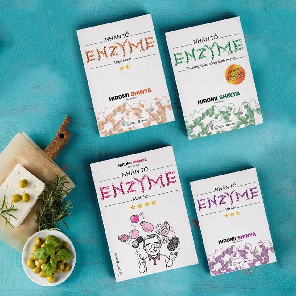 Nhân Tố Enzyme (Trọn Bộ 4 Cuốn) - Tái Bản Nhật Bản