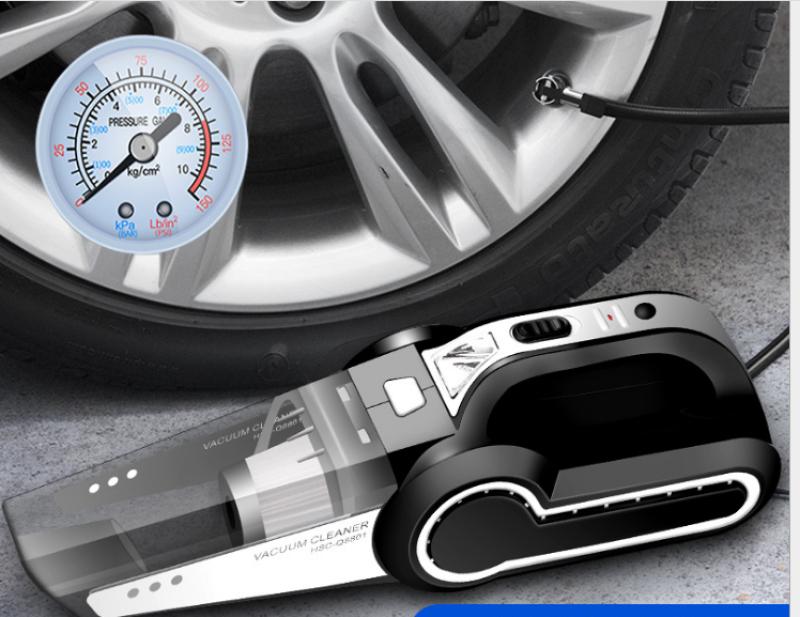 Máy hút bụi kiêm bơm lốp ô tô 4 trong 1 đa chức năng công suất cao