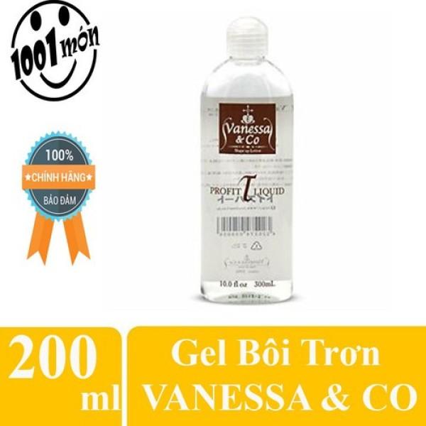 Gel bôi trơn Vanessa & Co Masage Body 200ml nhập khẩu Nhật bản chất lượng