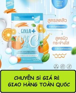 Viên uống Trắng Da COLLA VIT C Thái Lan thumbnail