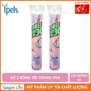 Combo 2 Bông Tẩy Trang IPEK 150 Miếng (Thổ Nhĩ Kì) thumbnail