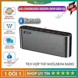 Loa Nghe Nhạc Bluetooth Keling AIDU Hifi Q8 Cao Cấp (Vàng) Phiên Bản Quốc Tế thumbnail