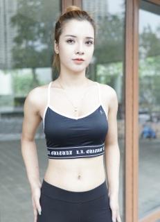 Áo bra tập gym yoga, hàng Việt Nam xuất khẩu, nâng đỡ tốt, có mút lót có thể tháo rời, lên form chuẩn đẹp thumbnail