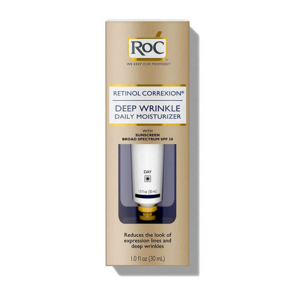 Kem dưỡng ban ngày xóa nếp nhăn RoC Retinol Correxion Deep Wrinkle Daily Moisturizer SPF 30 (30ml)
