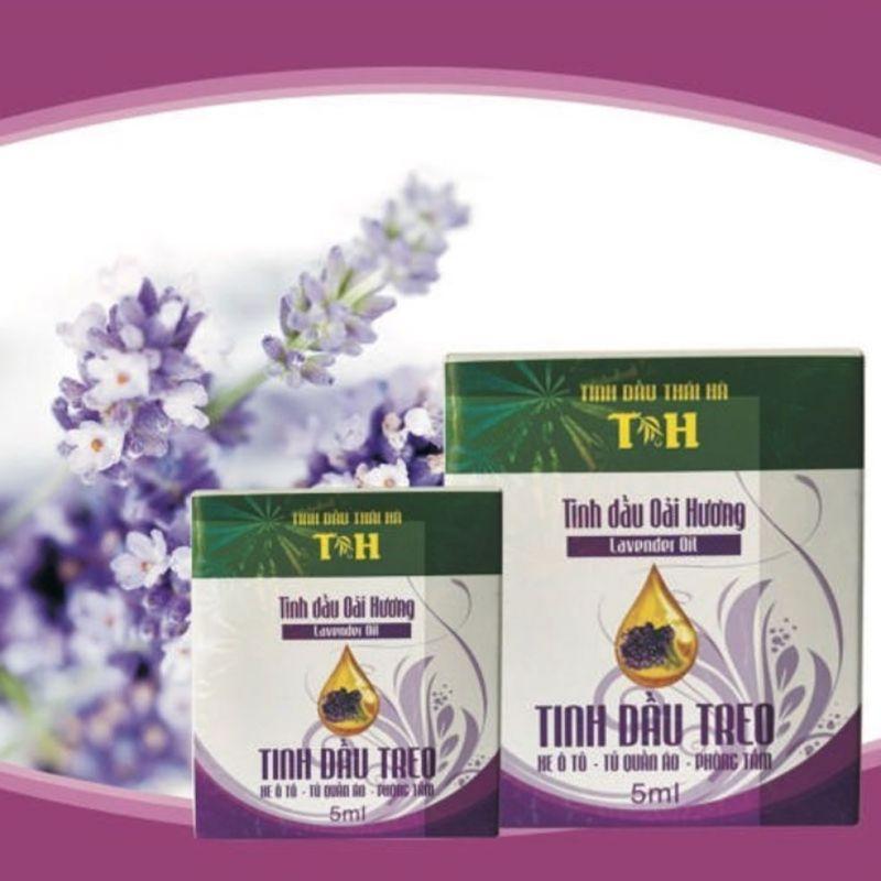 Tinh dầu treo oải hương Thái Hà