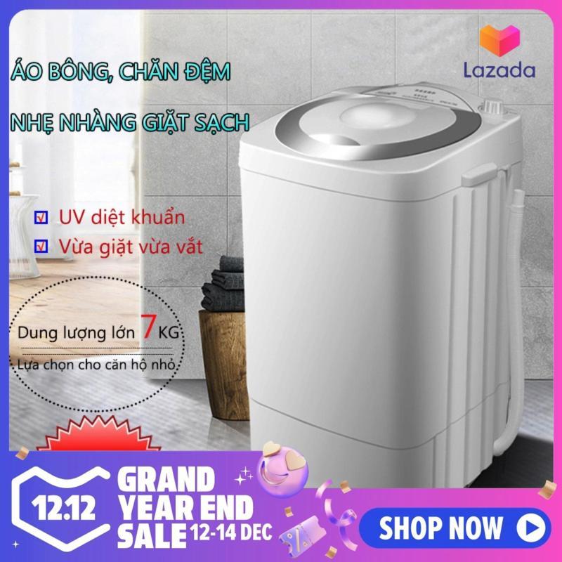 Bảng giá Máy giặt 7kg máy màu xám máy giặt mini tiện dụng dung tích lớn tiết kiệm điện Điện máy Pico