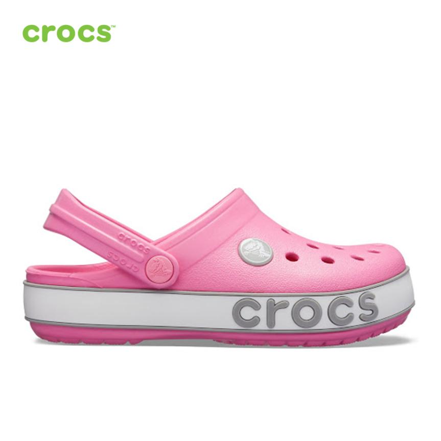 CROCS Giày Lười Trẻ Em Crocband Bold Logo Clog 206022 giá rẻ