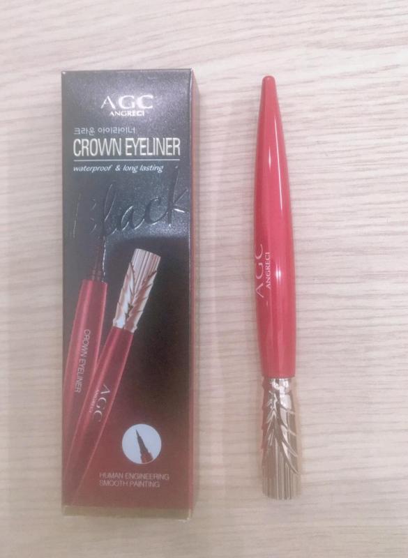 Bút Kẻ Mắt Nước chống nước từ kén tằm - CROWN EYELINER AGC