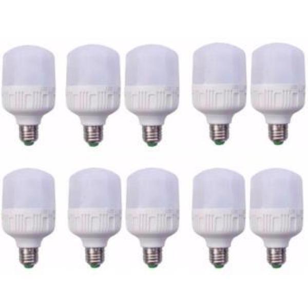 Bộ 10 LED BULB Trụ 40W (Ánh sáng trắng)