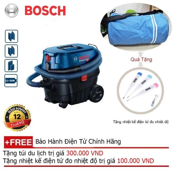 Máy hút bụi công nghiệp Bosch GAS 12-25 PS + Quà tặng balo du lịch