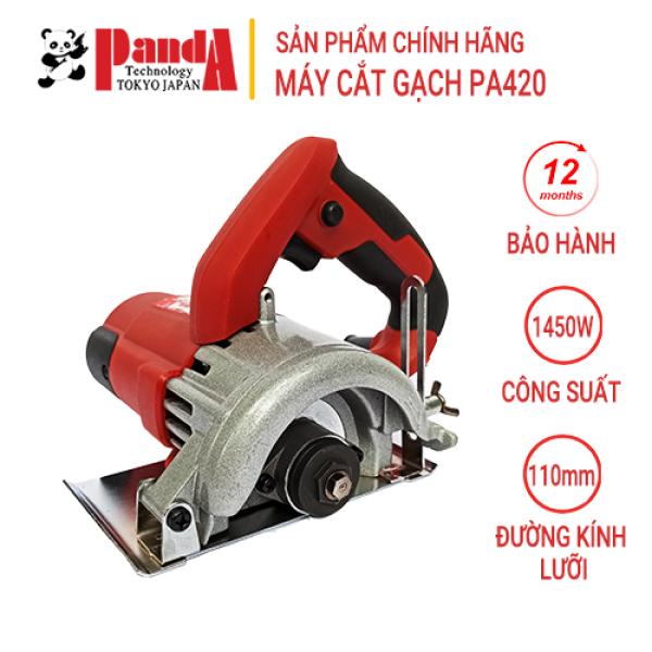 Máy cắt gạch, cắt đá Panda PA420, Công suất 1450W, Lưỡi 110mm, Bảo hành 12 tháng