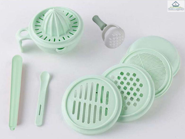 Home and Garden - Bộ chế biến ăn dặm Nhật Bản nhựa PP cao cấp (đạt chuẩn không BPA của Japan)