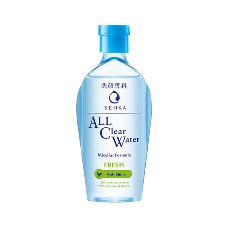 Nước Tẩy Trang Senka All Clear Water Micellar Anti Shine 230ml ( Xanh ) cao cấp