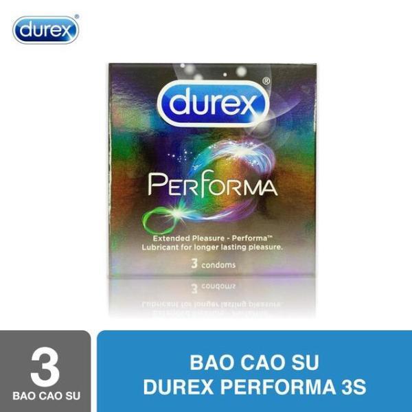 Bao cao su Durex Performa 3s - Hãng phân phối chính thức cao cấp