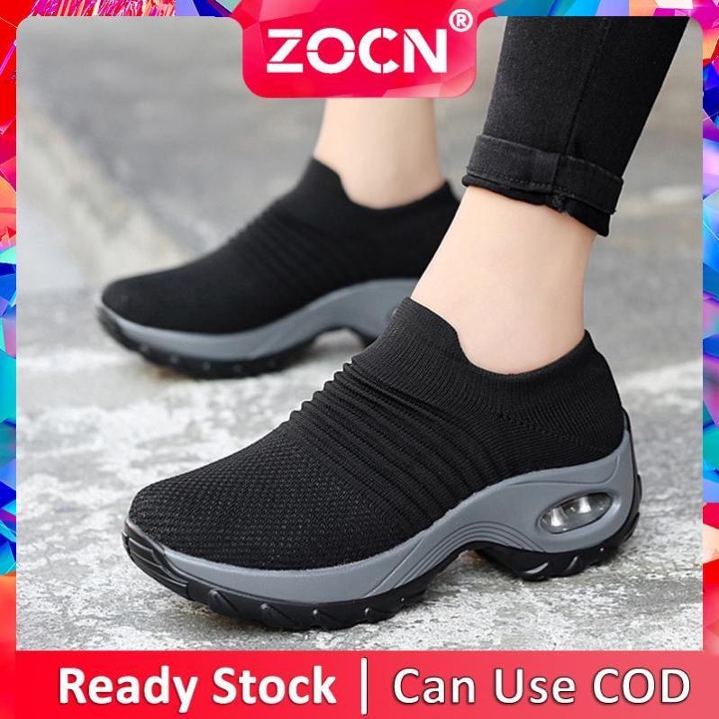 Giày Thể Thao Thoải Mái ZOCN Cho Nữ, Giày Thường Ngày Tăng Chiều Cao giá rẻ