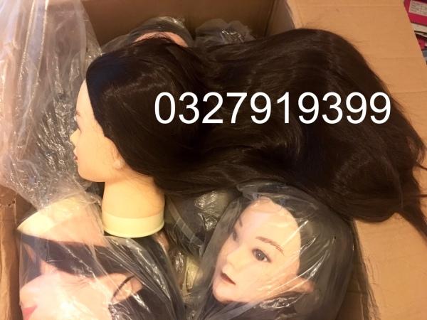Đầu manocanh học cắt tóc MX01