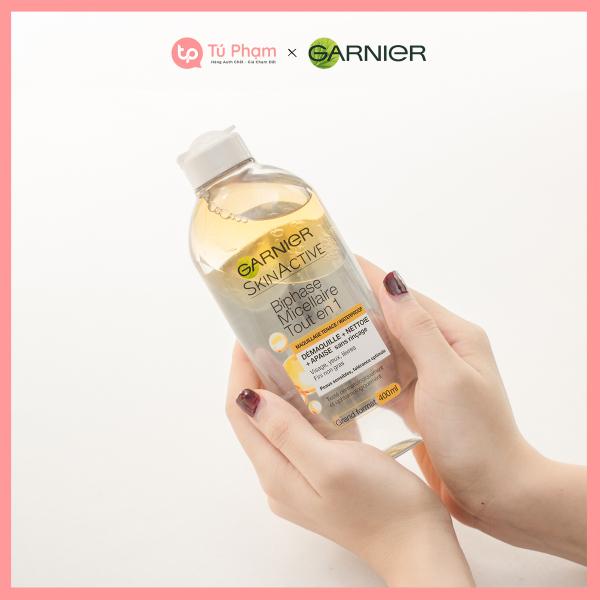 Nước Tẩy Trang Garnier Skin Active Solution Micellaire 400ml Trắng Vàng