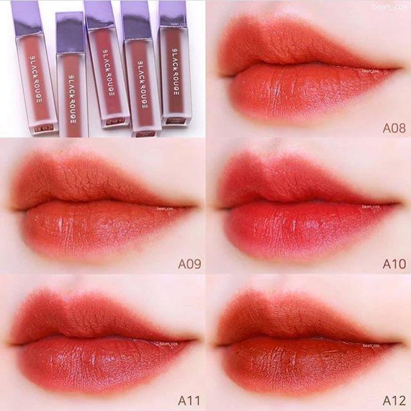 Son Black Rouge Air Fit Velvet Tint Mood Filter #A08 #A09 #A10 #A11 #A12 cao cấp