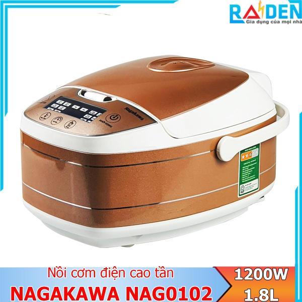 Bảng giá Nồi cơm điện cao tần 1.8L Nagakawa NAG0102 với 14 chức năng nấu và giữ ấm cơm Điện máy Pico