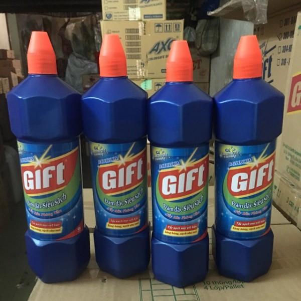 Nước tẩy bồn cầu Gift (900ml)