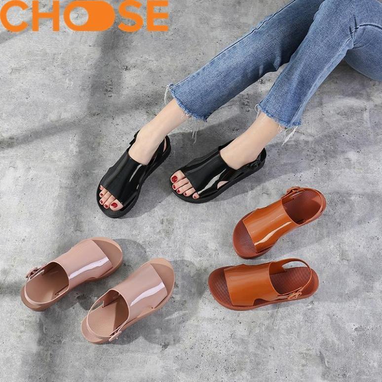 Giày Nữ Giày Đi Mưa Dép Cao Su Nữ Chống Thấm Nước Giày Sandal Cho Mùa Mưa HOT Nhất Hiện Nay Tăng Chiều Cao 1806 giá rẻ
