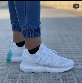 [Sale] Giày thể thao cặp Nam Nữ Adidas ZX 2K Boost thumbnail
