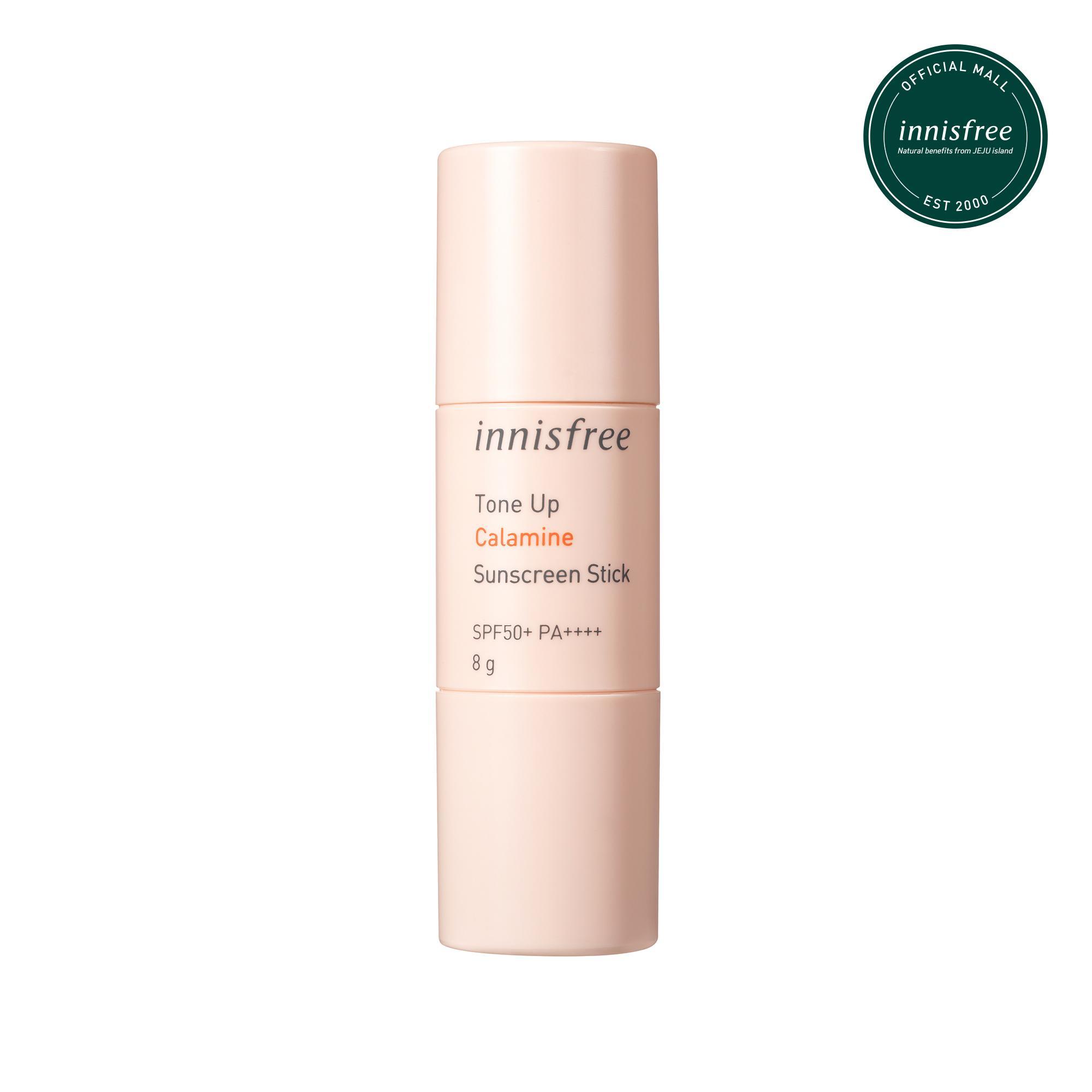 Kem chống nắng làm sáng da dạng thỏi innisfree Tone Up Calamine Sunscreen Stick SPF50+ PA++++ 8g tốt nhất