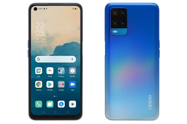 Điện thoại OPPO A54 (4GB/128GB) chính hãng, nguyên seal, MỚI 100%, Màn hình: IPS LCD6.5HD+, Camera sau: Chính 13 MP & Phụ 2 MP, 2 MP, Camera trước: 16 MP, Chip: MediaTek Helio P35, Pin, Sạc: 5000 mAh, 18 W