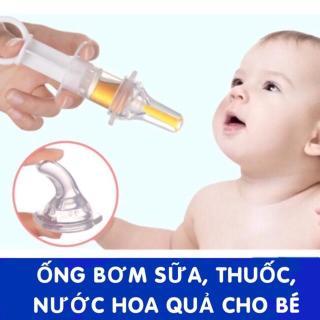 Dụng cụ ống bơm xilanh cho bé uống thuoc thumbnail