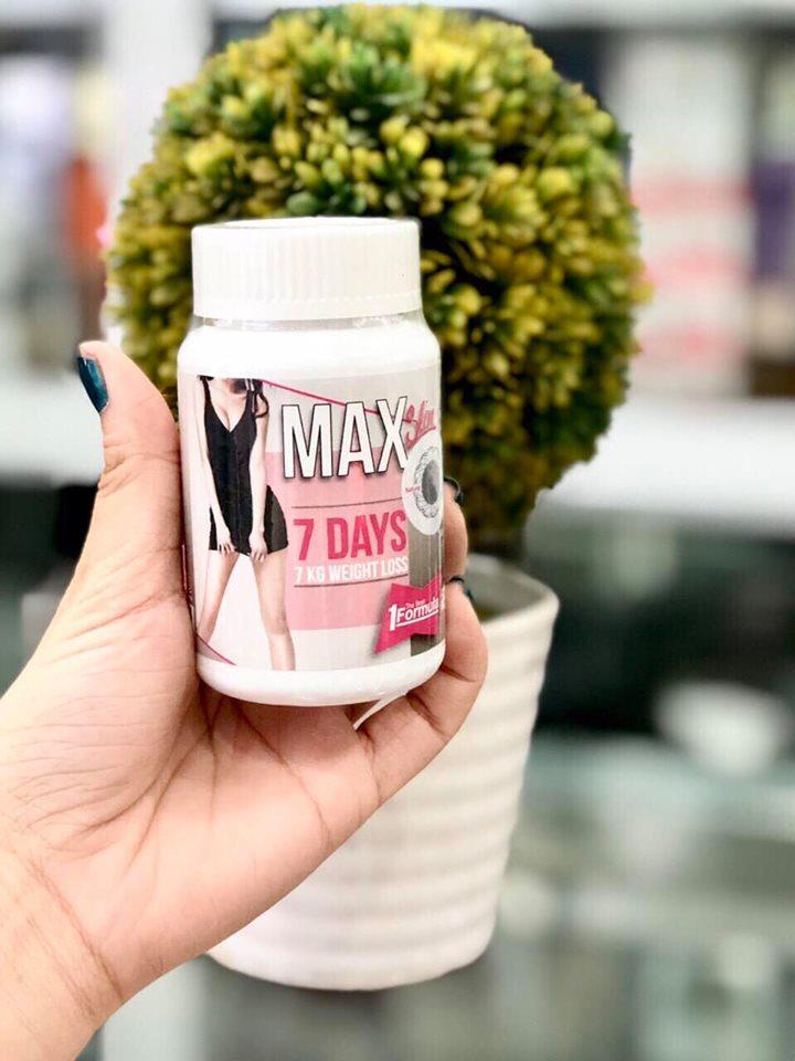 Viên uống giảm cân Thái Lan Max Slim 7 Days
