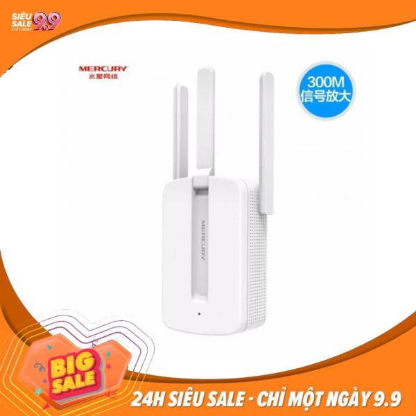 Giá Repeater wifi - Thiết bị kích sóng Wifi Mercury Repeater MW310RE 3 Anten Phiên bản mới