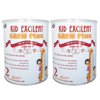 [Combo 2 lon] Sữa mát phát triển chiều cao, trí não cho trẻ Kid Excilent lon 900g thumbnail