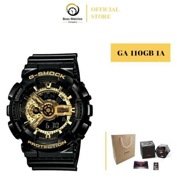 Nơi bán ĐỒNG HỒ NAM CASIO G SHOCK GA 110GB 1A GOLD BLACK – ĐEN VÀNG