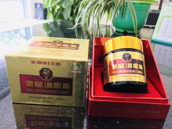 Sâm ngọc linh mật ong hộp 1 lọ 125g QUASAPHARCO