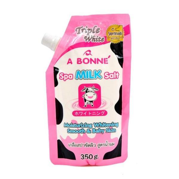 Muối tắm sữa bò tẩy tế bào A Bonne Spa Milk Salt Thái Lan 350gr giá rẻ